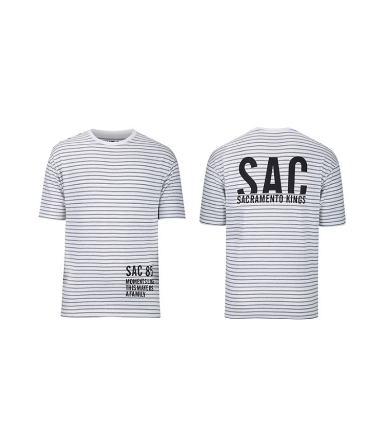 2017 Sacramento Kings Stripe Tee
