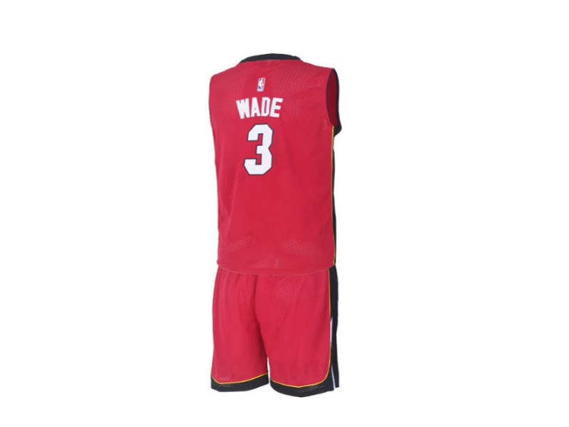 2016 Miami Heat Dwyane Wade 3 Uniform