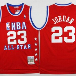1988-89 Jordan #23 All-Star Red