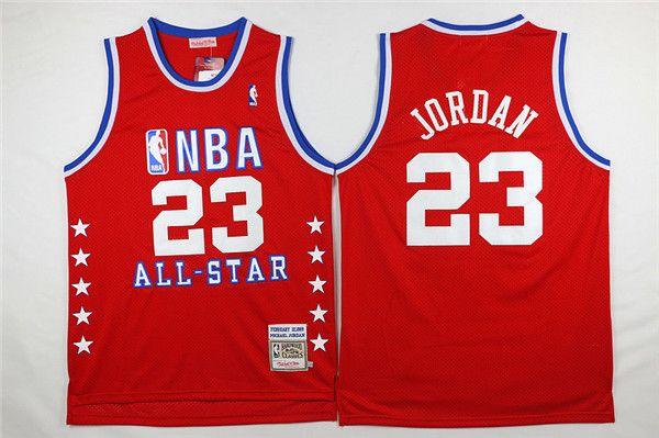 1988-89 Jordan #23 All-Star Red