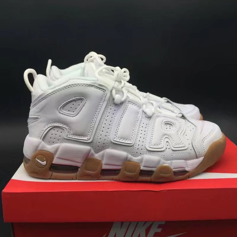 Кроссовки Air More Uptempo White Gum