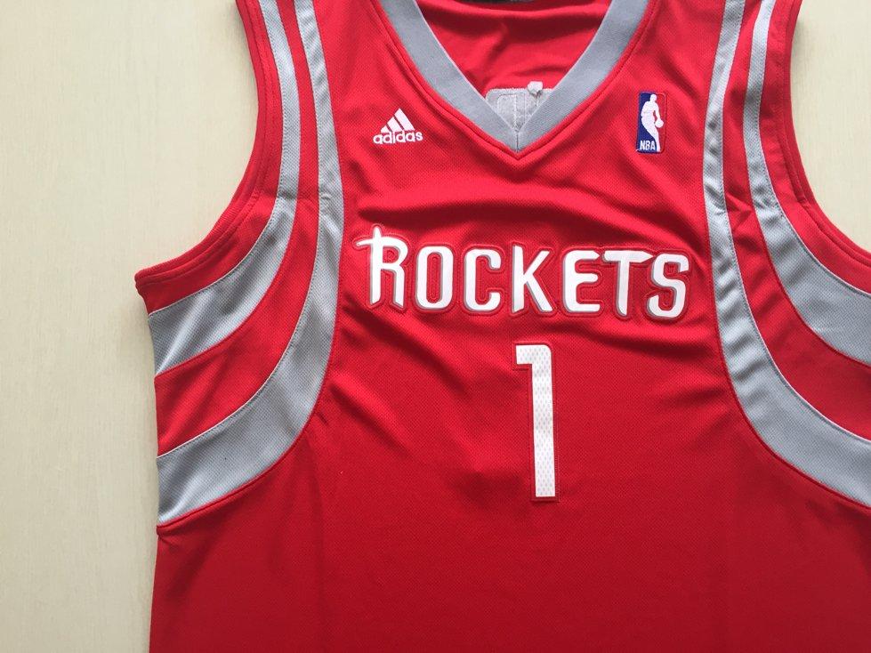 2016 Houston Rockets 1 McGrady Uniform