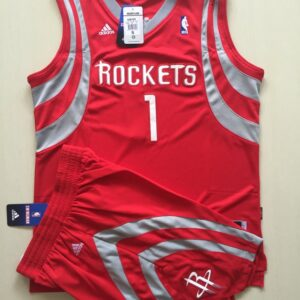 2016 Houston Rockets 1 McGrady Uniform