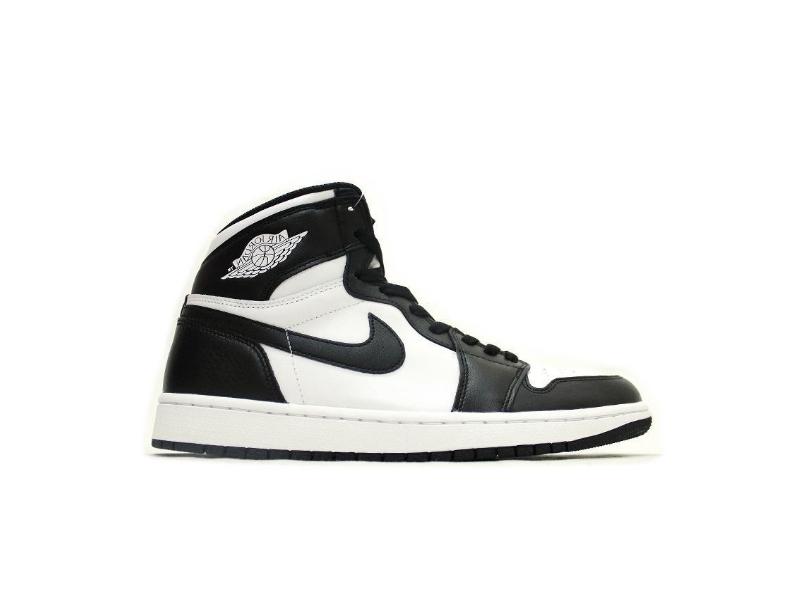 Jordan 1 Retro Black White (2014) купить