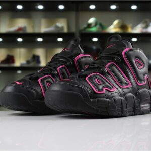 Кроссовки Air More Uptempo Black Pink Blast (GS)