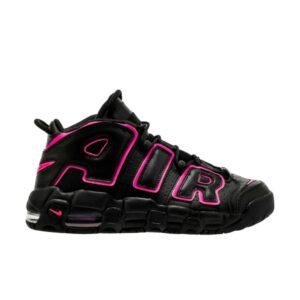 Купить кроссовки Air More Uptempo Black Pink Blast (GS)