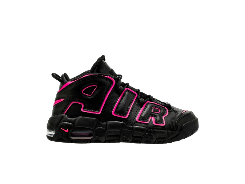 Nike-Air-More-Uptempo-Black-Pink-Blast-GS