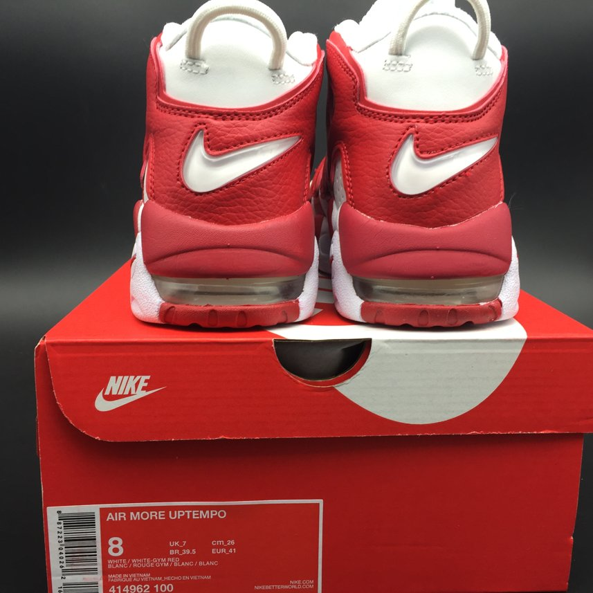 Кроссовки Air More Uptempo Varsity Red