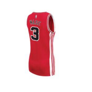 Женское джерси Chicago Bulls Wade 3 Red