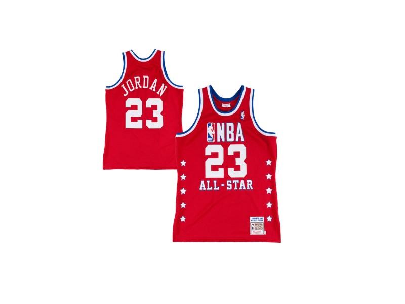 Заказать поиск джерси 1988-89 Jordan #23 All-Star Red