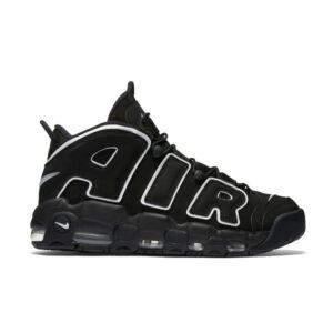 Заказать поиск кроссовок Air More Uptempo Black White 2016