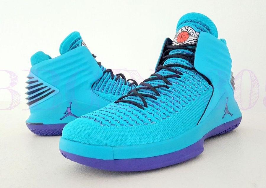 Air Jordan XXXII Charlotte Hornets PE
