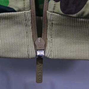 Купить олимпийку Adidas x Bape ABC Camo Track Jacket Green
