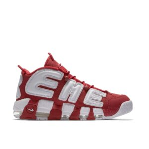 Supreme x Nike Air More Uptempo Red купить