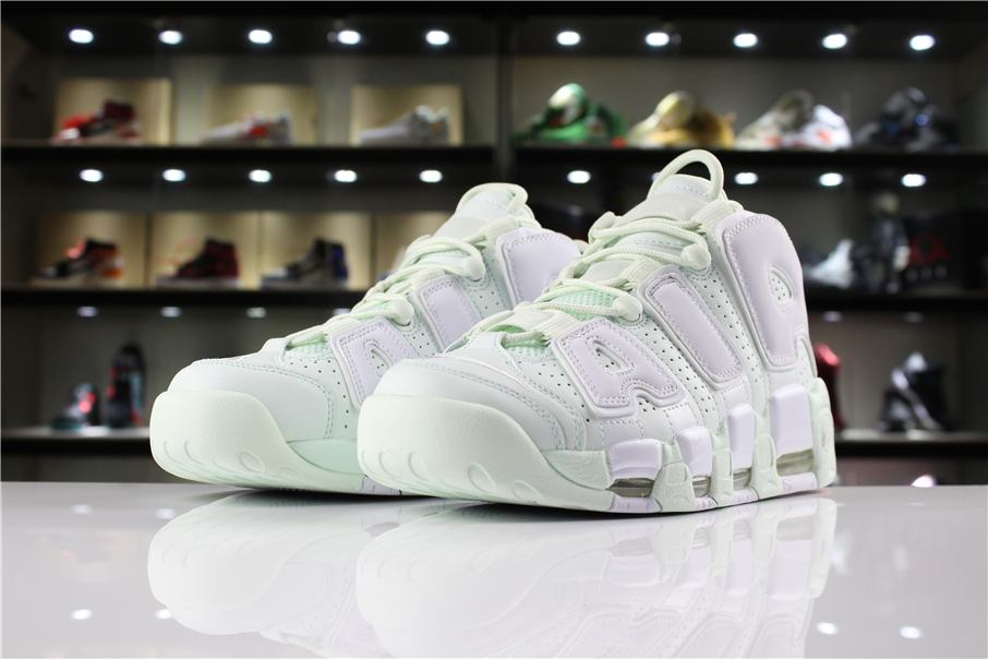 Nike Wmns Air More Uptempo Barely Green 1