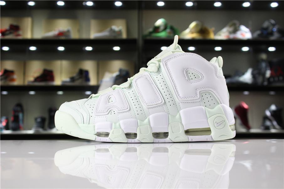 Nike Wmns Air More Uptempo Barely Green 2