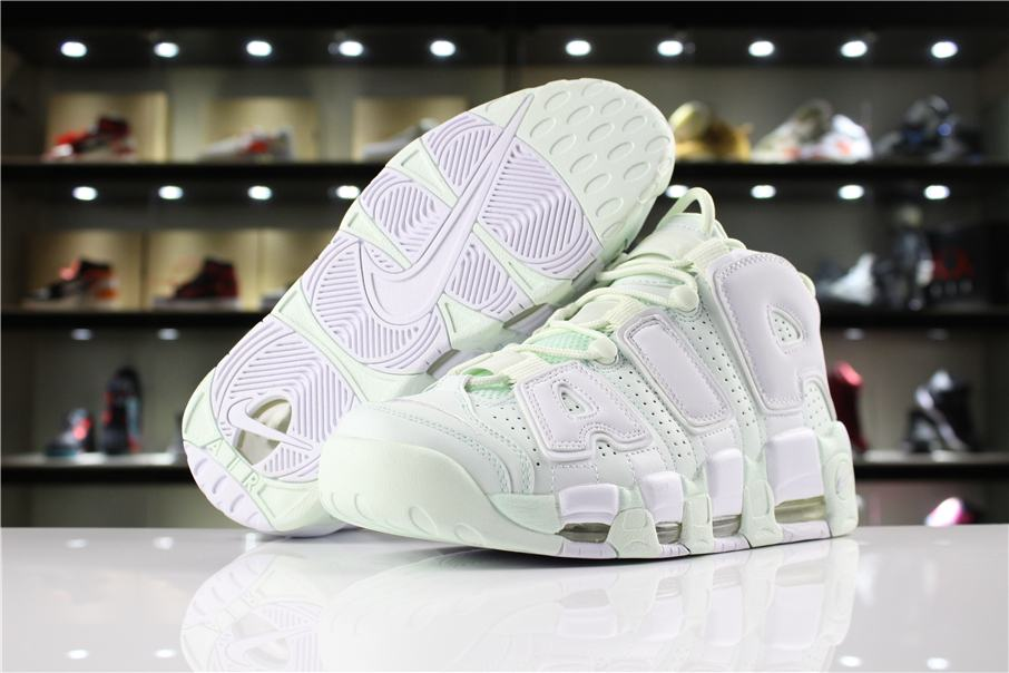 Nike Wmns Air More Uptempo Barely Green 9