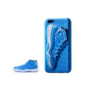 Чехол Air Jordan 12 на iPhone синий