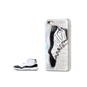 Чехол Air Jordan 12 на iPhone белый