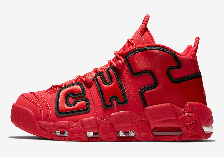 Nike делает ремикс Air More Uptempo 'Chicago'