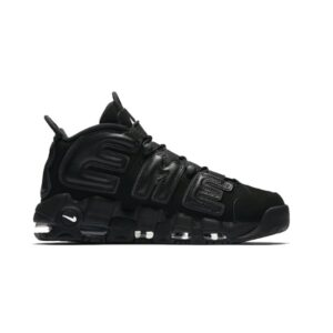 Кроссовки Supreme x Nike Air More Uptempo Black купить