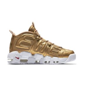 "Кроссовки Nike Air More Uptempo x Supreme ""Metallic Gold"""