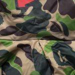 BAPE X adidas ABC Camo Firebird Shark Puffer Jacket Green-5