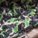 BAPE X adidas ABC Camo Firebird Shark Puffer Jacket Green-8