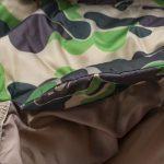 BAPE X adidas ABC Camo Firebird Shark Puffer Jacket Green-9