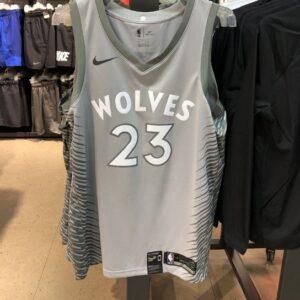 2017-18 Butler Timberwolves #23 City Gray