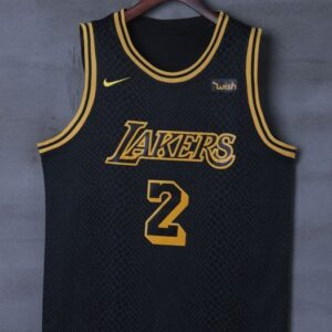 2017-18 Lonzo Ball Lakers #2 City Black