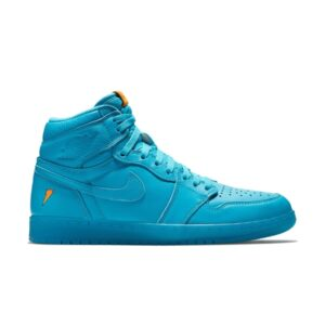 Кроссовки Jordan 1 Retro High Gatorade Blue Lagoon купить