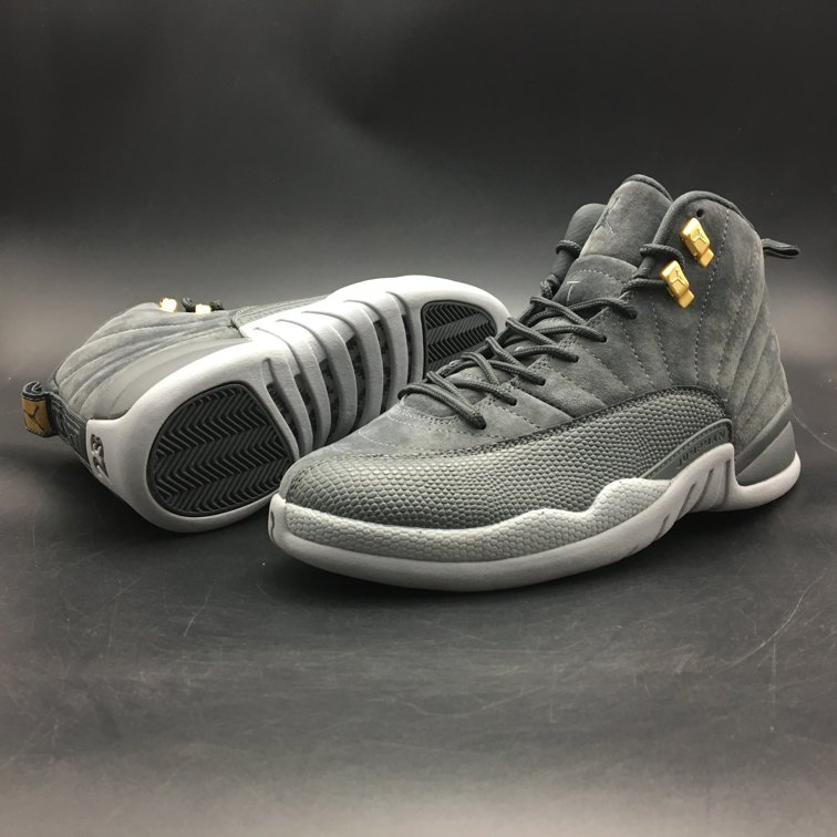 Air-Jordan-12-Retro-Dark-Grey-4