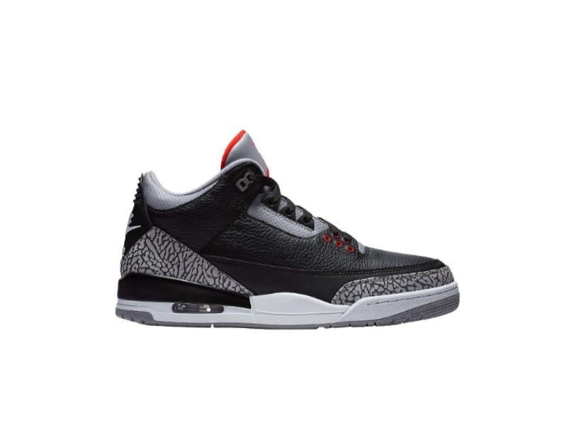 Заказать поиск кроссовок Air Jordan 3 Retro Black Cement