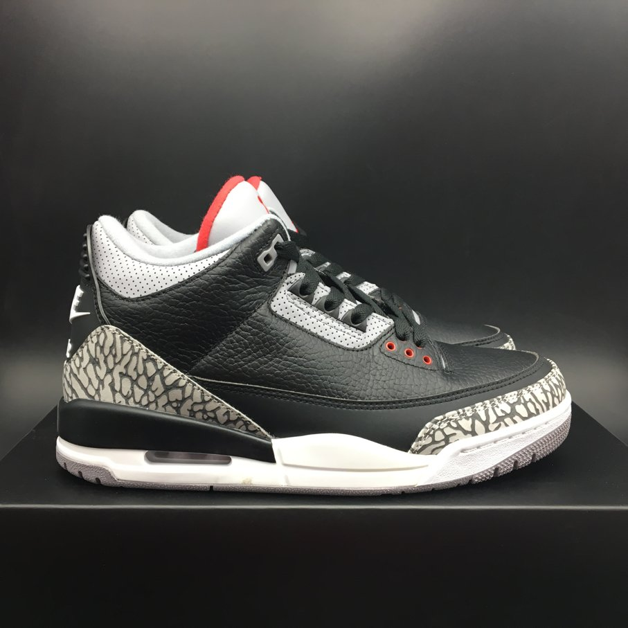 Air Jordan 3 Retro Black Cement-1