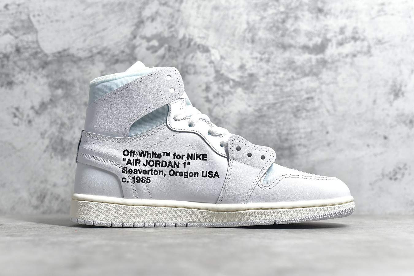 Заказать поиск кроссовок Jordan 1 Retro High Off-White White