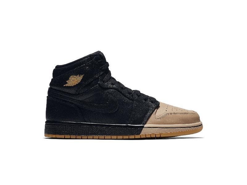 Jordan 1 Retro High Dip-Toe Black (W)