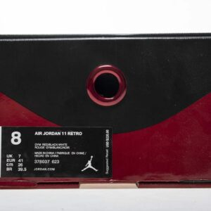 Заказать поиск Jordan 11 Retro Win Like 96 (Gym Red)