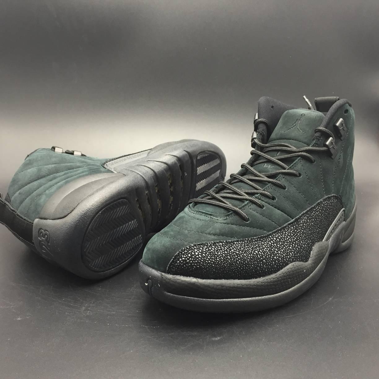 Jordan 12 Retro OVO Black-4