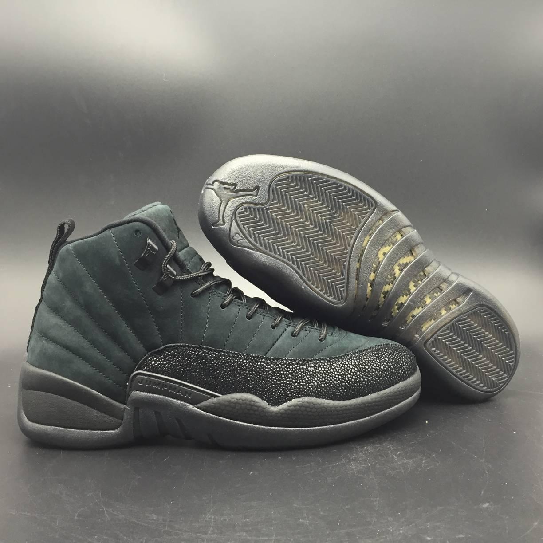 Jordan 12 Retro OVO Black-7