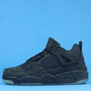 KAWS x Air Jordan 4 Retro Black 1