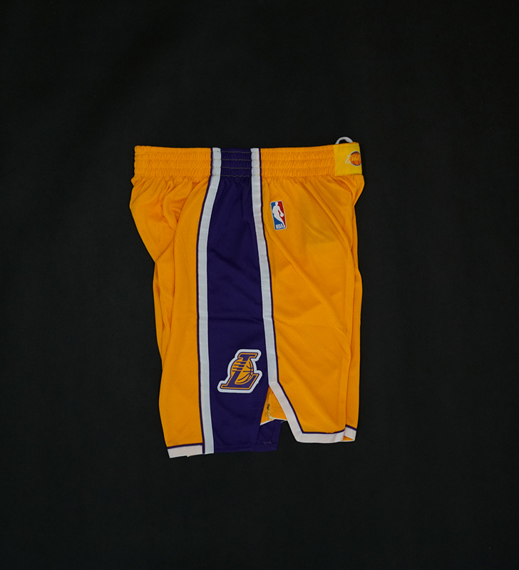 LA Lakers Yellow Nike Icon Edition 17-18-3