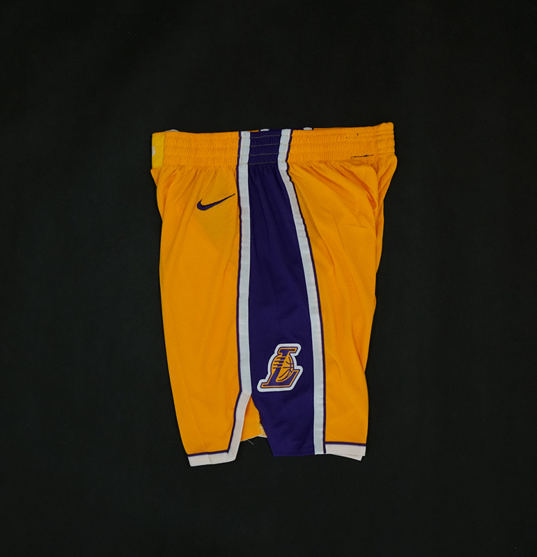 LA Lakers Yellow Nike Icon Edition 17-18-4