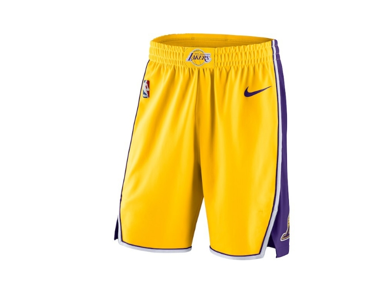 LA Lakers Yellow Nike Icon Edition 17-18