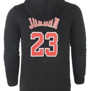 NBA Bulls 23 Jordan с капюшоном