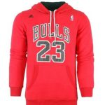 NBA Bulls 23 Jordan с капюшоном-2