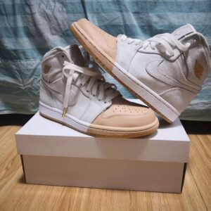 Wmns Air Jordan 1 Retro High Premium Dipped Toe White 1