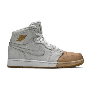 Wmns Air Jordan 1 Retro High Premium Dipped Toe White