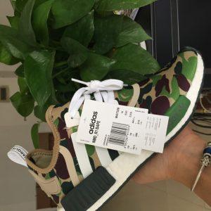 Кроссовки adidas NMD R1 Bape Olive Camo