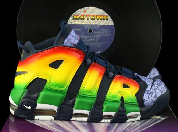 Nike Air More Uptempo 'Motown' - возрождение истории.